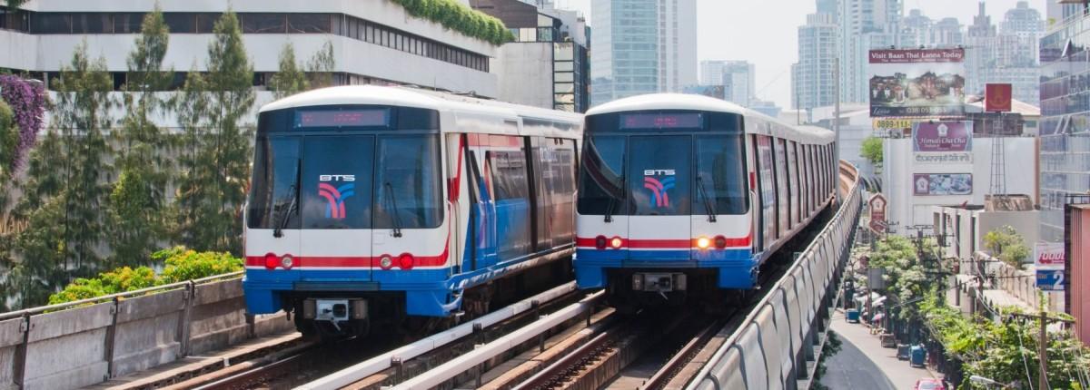曼谷主要大眾運輸系統,蜘蛛卡終於現身!