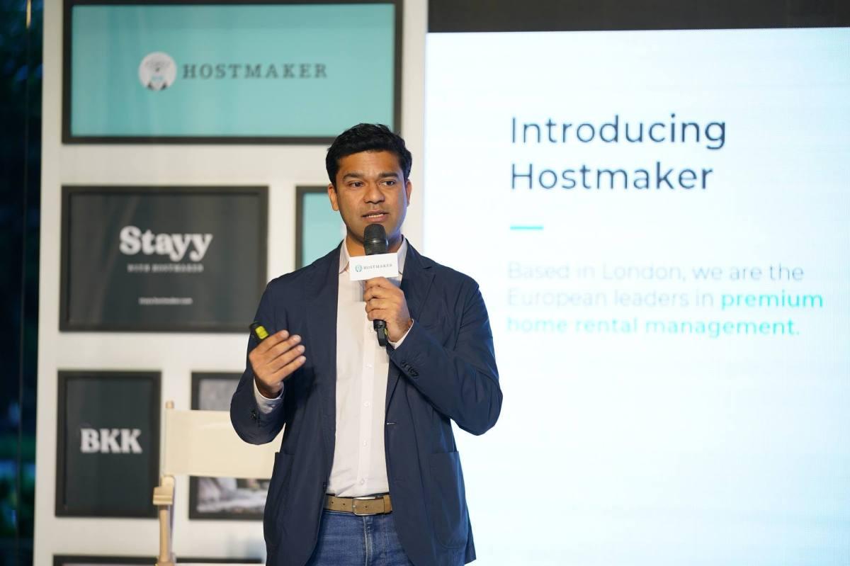 物管新創Hostmaker在曼谷正式發表新平台Stayy with Hostmaker